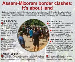 असम-मिजोरम सीमा पर हिंसा से 2 राज्यों के दशकों पुराने संबंध आहत