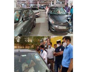 Namrata Shirodkar lauds drive-in vaccination centres in Mumbai, Bhopal - Hindi News