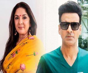 Neena Gupta puts in her own self in each role: Manoj Bajpayee - Hindi News