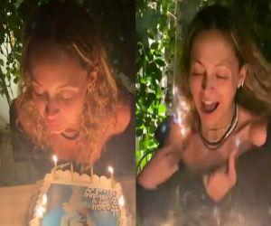 Nicole Richie hair catches fire during Birthday celebrations - Hindi News