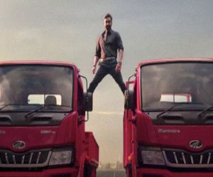 Ajay Devgn to Anand Mahindra: It was great shooting the truck stunt - Hindi News