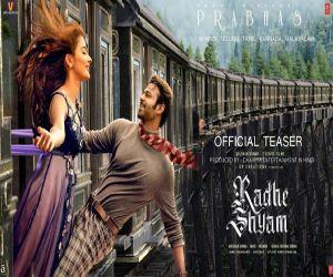 Radheshyam teaser hints at failure, Prabhass 3rd Pan India film - Hindi News Portal