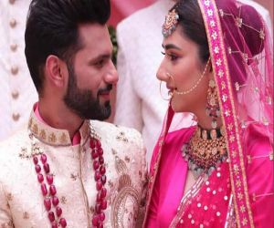 Rahul Vaidya, Disha Parmar spark off wedding rumours with music video pic - Hindi News