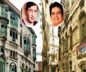 Restoration work of Dilip Kumar, Raj Kapoor Peshawar homes begins - Hindi News