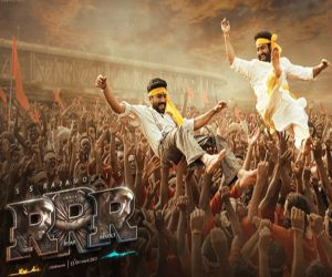 RRR makers launch new poster on Ugadi - Hindi News