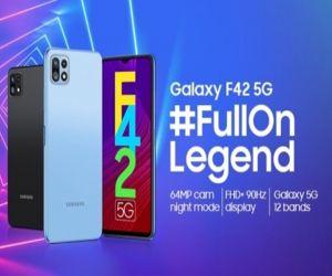 Samsung to launch Galaxy F42 5G on September 29 - Hindi News