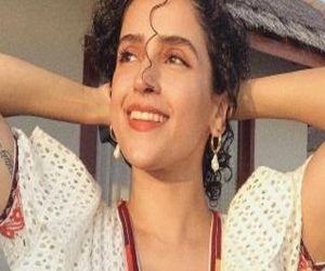 Sanya Malhotra flaunts perfect skin in latest photo-op - Hindi News