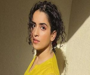 Sanya Malhotra flaunts a few throwback moves - Hindi News