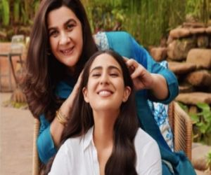 Sara Ali Khan and Amrita Singh come together for the first time for a brand endorsement! - Hindi News