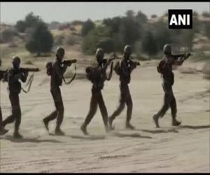 Joint military exercise of soldiers of India and America in Bikaner - Hindi News