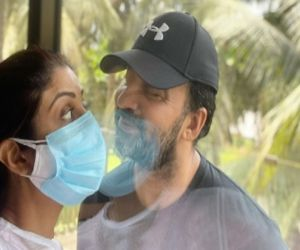Shilpa Shetty showcases love in the time of Corona - Hindi News