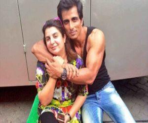 Sonu Sood, Farah Khan come together for a music video - Hindi News