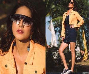 Sun-kissed Sunny spreads warmth on the web - Hindi News
