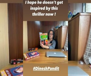 Taapsee fears Sujoy Ghosh will get inspired by Dinesh Pandit bhayanak book - Hindi News