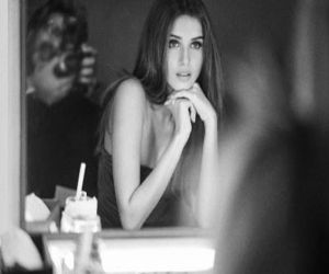 Tara Sutaria looks stunning in a new black and white picture she has shared on social media - Hindi News