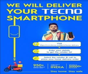 TECNO brings back Doorstep Delivery for safer shopping experience - Hindi News Portal