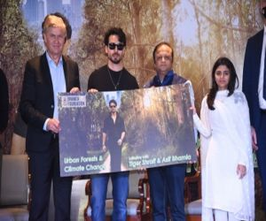 Tiger Shroff becomes face of global campaign on urban forests, climate conservation - Hindi News