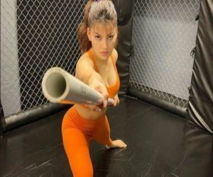 Urvashi Rautela learns martial arts for upcoming action film - Hindi News