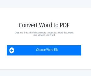 Let us know, the top 5 free Word to PDF Converter - Hindi News