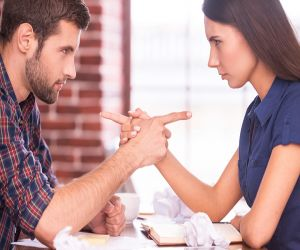 Do not say such words which create rift in the relationship between husband and wife, the matter goes far - Hindi News
